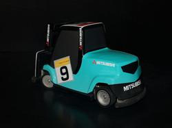 The Racing Bug Mitsubishi (Back)