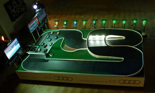 Standing Indoor Race System