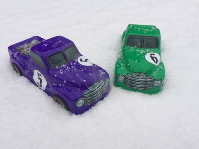 Snow Racing Trucks