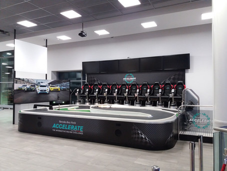 Mercedes-Benz World is Open Again, including ACCELERATE