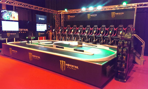Monster Energy GP Platform System
