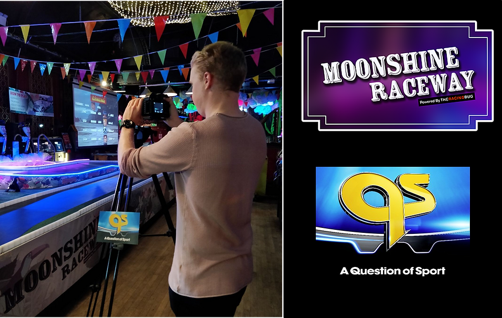 Moonshine Raceway powered by The Racing Bug, Question of Sport Filming