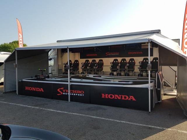 Honda Truck Stystem for Outdoor Events,