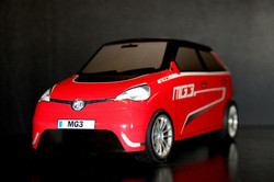 Red MG3 RC Racing TRB