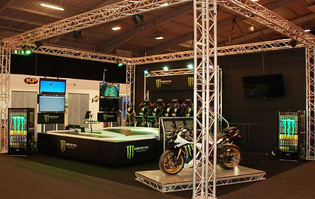 Monster Exhibition Stand Ideas For Hire
