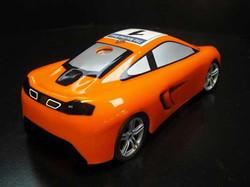 McLaren MP4 12C Rear