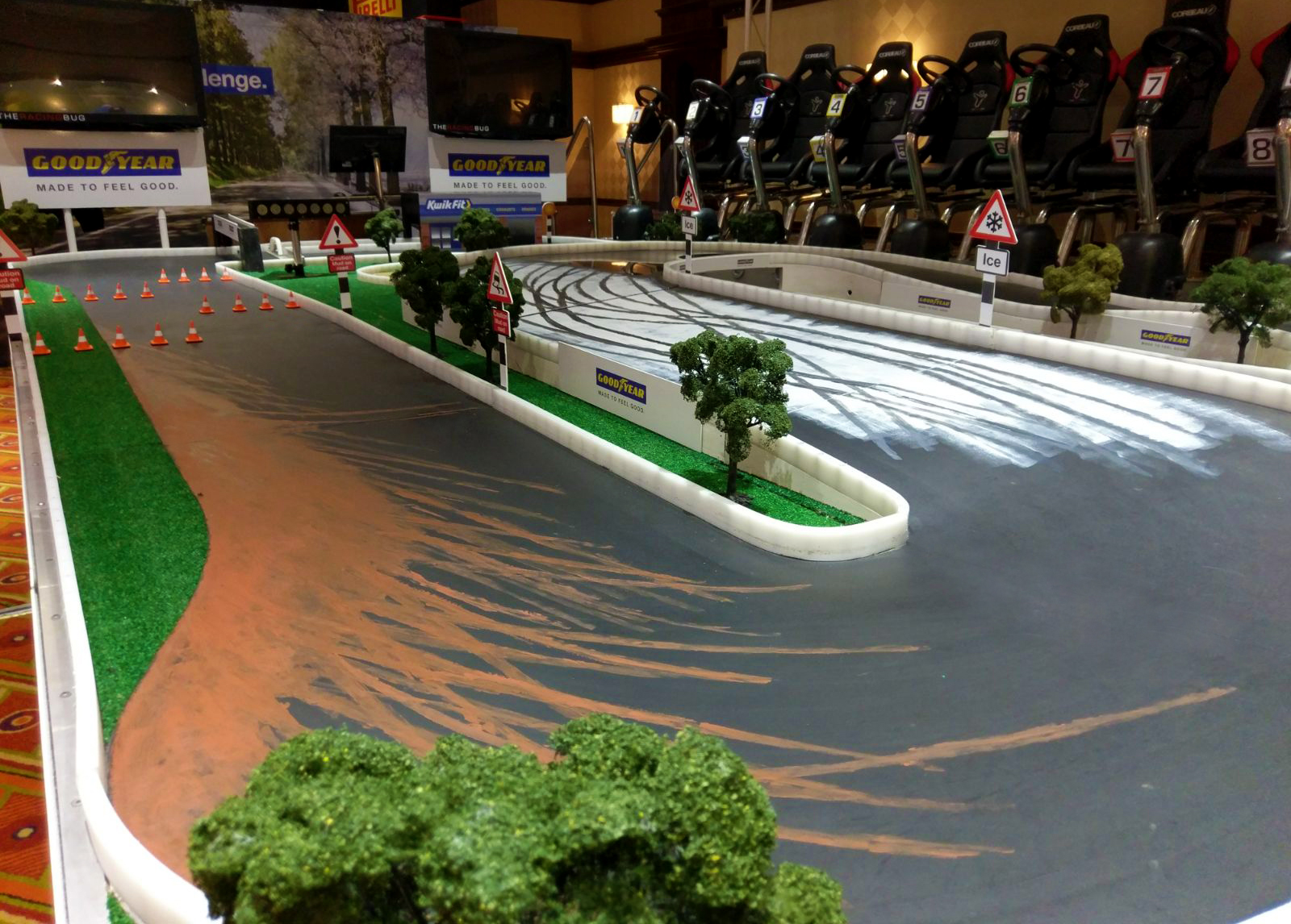 Giant Scalextric Hire for Events