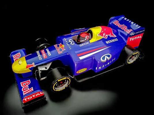 Bespoke Branding on F1 Racing Car