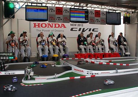 Honda Racing Team racing motorsport simulator