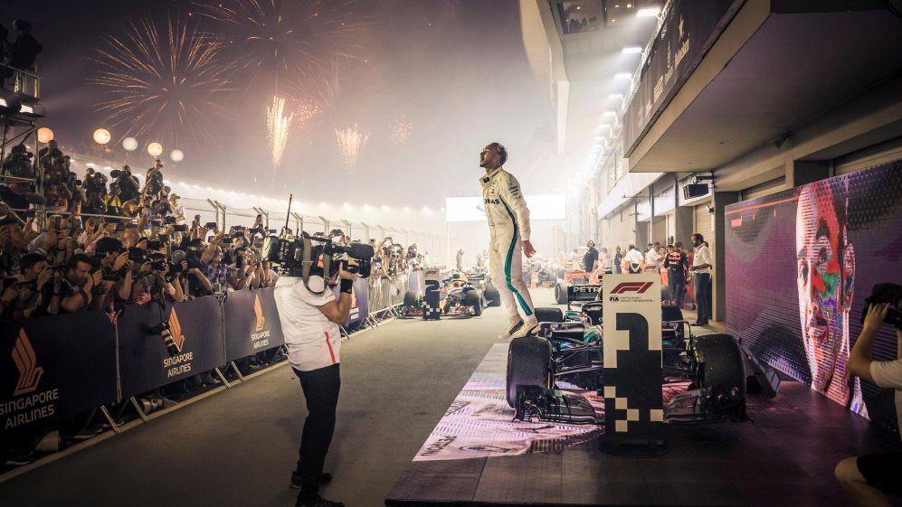 Grand Prix Hamilton Race Win