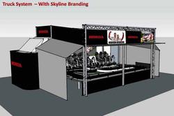 Truck System with Skyline Branding