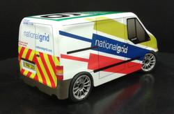 TRB National Grid Racing Transit Van Rear