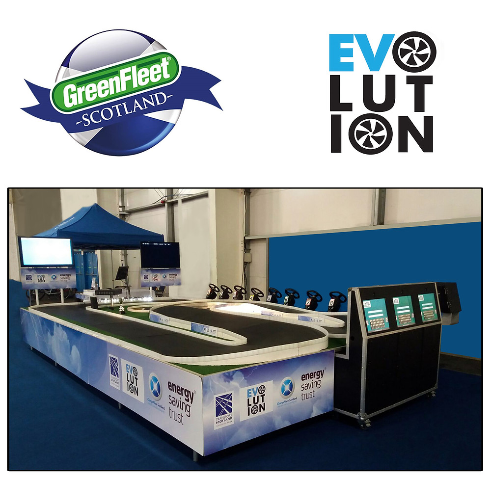 Greenfleet Evolution Event, Standing Race System, Experiential Marketing