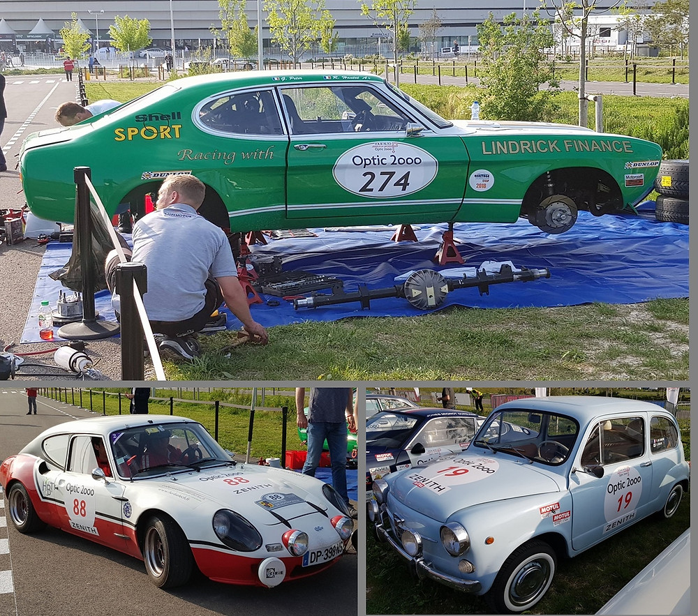 Optic 2000 Classic Cars at events