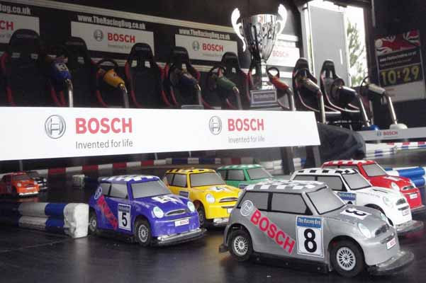 Bosch Branded Truck Racing Minis