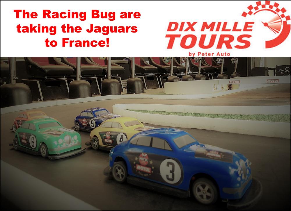 Miniature Scale Race Cars, Jaguars, France