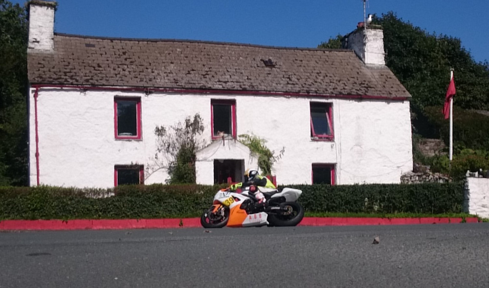 Andy McPherson Motorcycle festival superbike racing