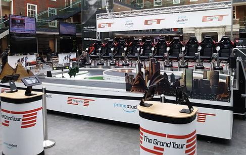 Amazon Prime Grand Tours Stand Experiential Marketing Ideas