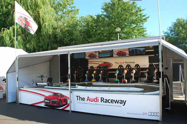 Exhibition Stand Attractions And Games Ideas : Race systems the racing bug