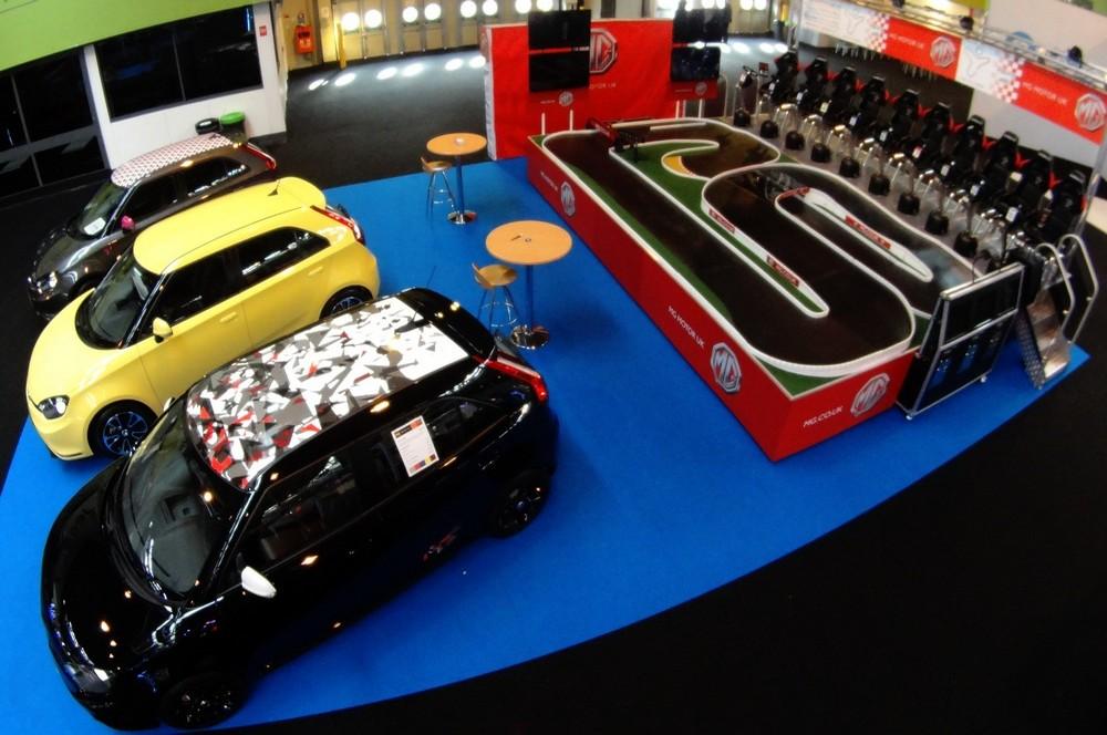 MG seated, Racing Cars