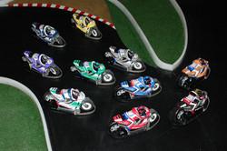 set of Motul 2015 superbikes
