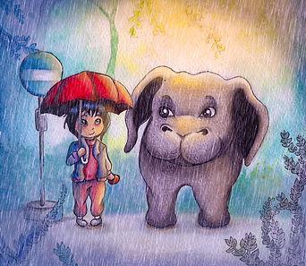 Okja illustration