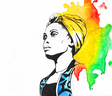 Imany illustration
