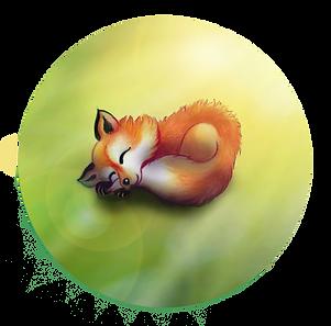 illustration enfants renard