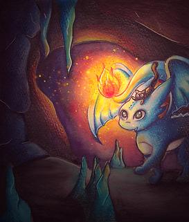 Dragon illustration enfants