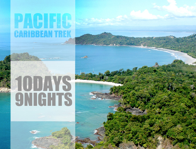 Pacific Caribbean trek