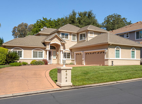 Pool Home For Sale in Gated Community of Fair Oaks CA Just Listed