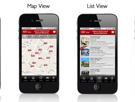 GPS Powered Home Search App