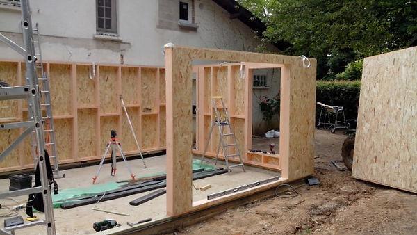 www.mieuxvivrebois.fr;Extension en ossature bois dans le Val de Marne