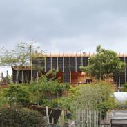 IMG_4144.JPGextension ossature bois,isolation extérieure,bardage bois,baie vitrée