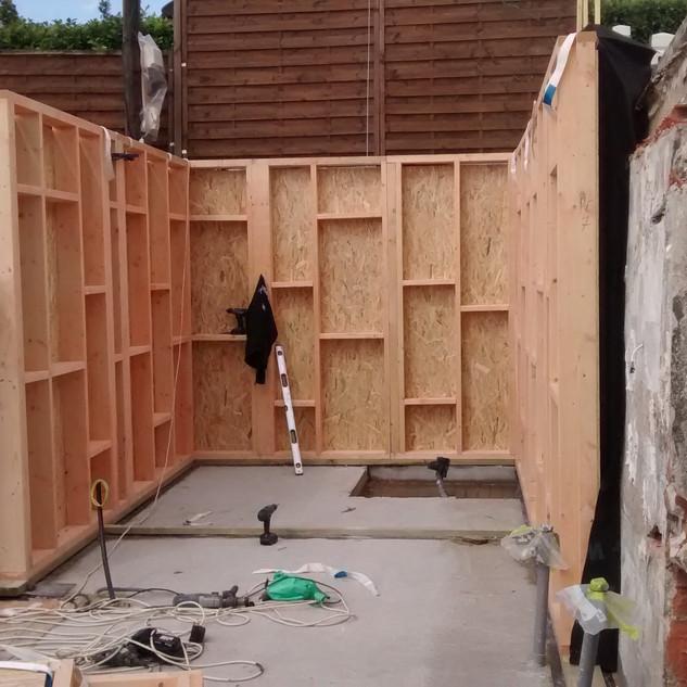IMG_20150505_160122079.jpgextension ossature bois,isolation extérieure,bardage bois,baie vitrée
