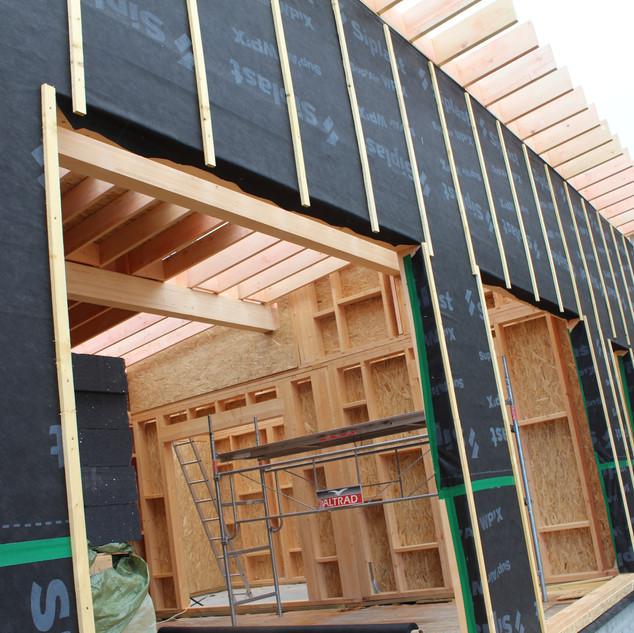 IMG_4151.JPGextension ossature bois,isolation extérieure,bardage bois,baie vitrée