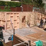 IMG_20150505_161842671.jpgextension ossature bois,isolation extérieure,bardage bois,baie vitrée