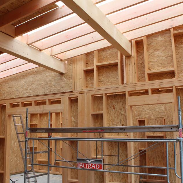 IMG_4152.JPGextension ossature bois,isolation extérieure,bardage bois,baie vitrée