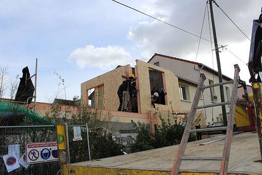 www.mieuxvivrebois.fr;Maison en ossature bois dans le Val de Marne