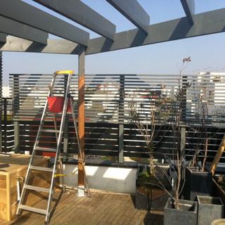 Création d'une Chambre parentale sur la terrasse d'un immeuble