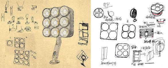 远瞻 见众 胜亚 满堂3 投光灯 Floodlight design lighting spotlight