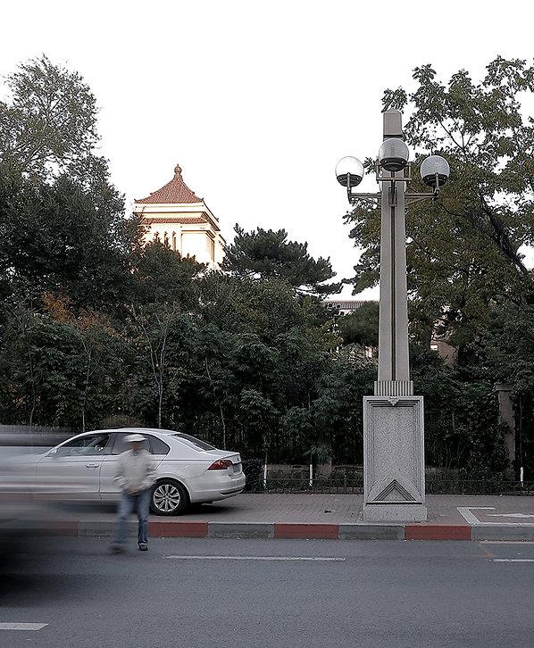 长春 新民大街 路灯 远瞻 见众 设计 Design Lighting Street Lights Changchun China