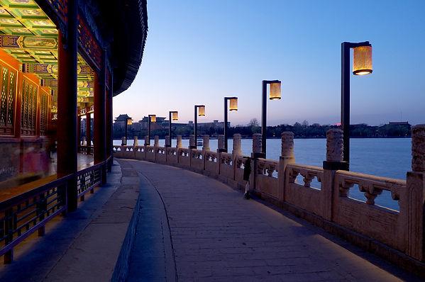 远瞻 见众 庭院灯 北海公园 设计 照明 Lighting Design Beihai Park Garden Lamp