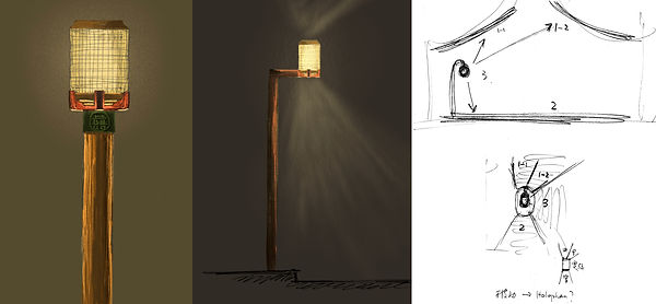 远瞻 见众 设计 北海公园 北京 庭院灯 路灯 琉璃 古典灯 产品设计 工业设计 定制灯具 zdp scspd yuanzhan jianzhong product design lighting garden lamp street beihai park beijing