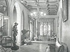 Abney Hall , main entrance (1964).png