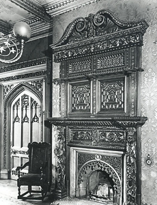 Abney Hall, a magnificently ornate firep