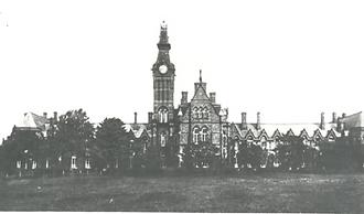 Barnes Hospital Cheadle, from a postcard