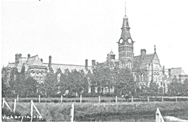 Barnes Hospital photographed by William