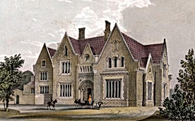The Grove, home of Alfred Orrell, before