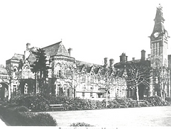 Barnes hospital from a postcard, no date